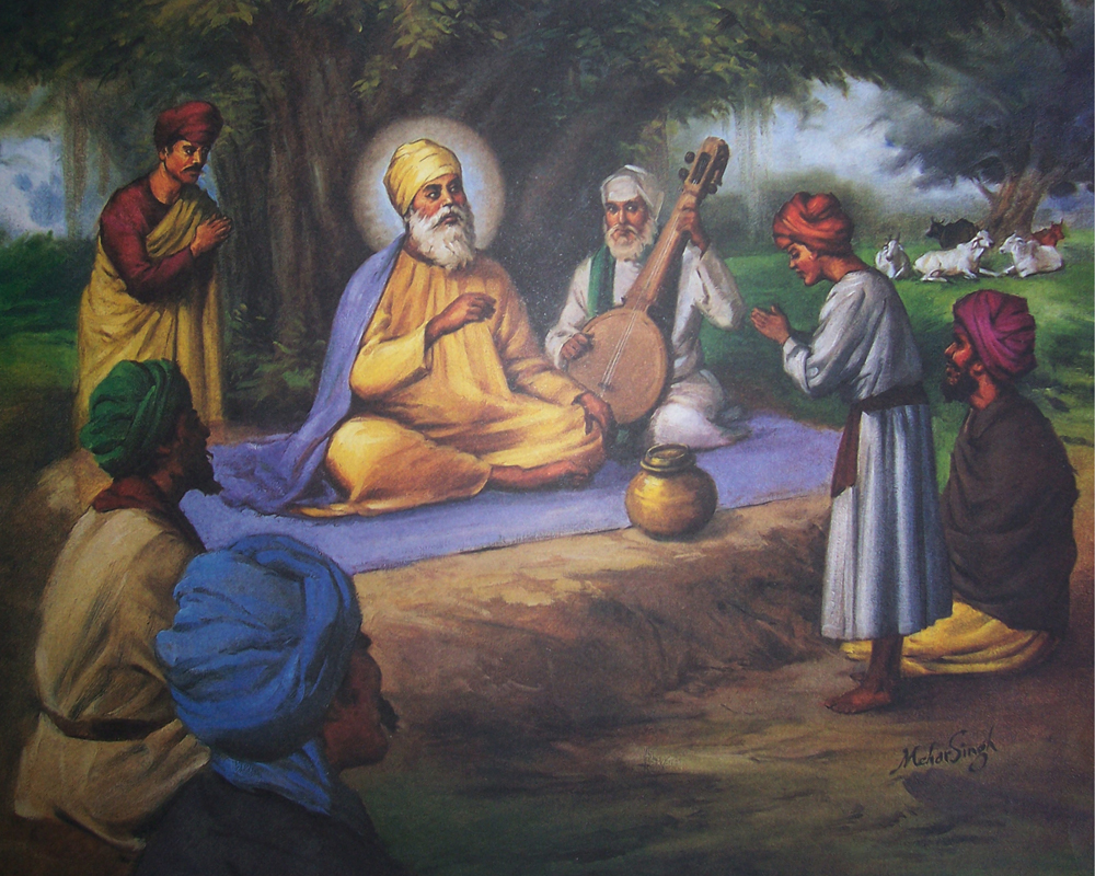 guru nanak dev ji as the founder of sikhism Beginning with guru nanak and the founding of sikhism, we'll discuss their  succession, ending with the tenth leader, guru gobind singh.